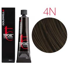 Goldwell Topchic 4N (средне-коричневый) - Cтойкая крем краска