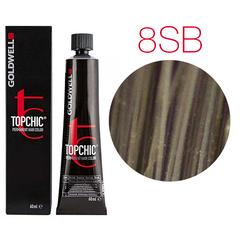 Goldwell Topchic 8SB (серебристый блонд) - Cтойкая крем краска