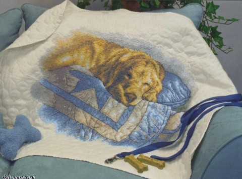 Золотые сны (одеяльце)
