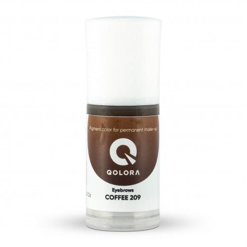 Пигмент Qolora Coffee 209
