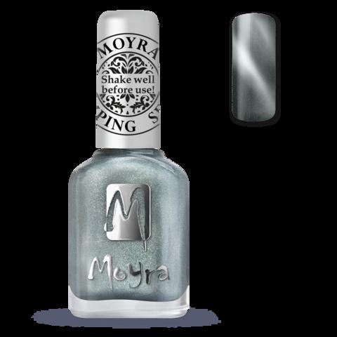 MOYRA Магнитный лак для стемпинга 12 мл Серебро SP30