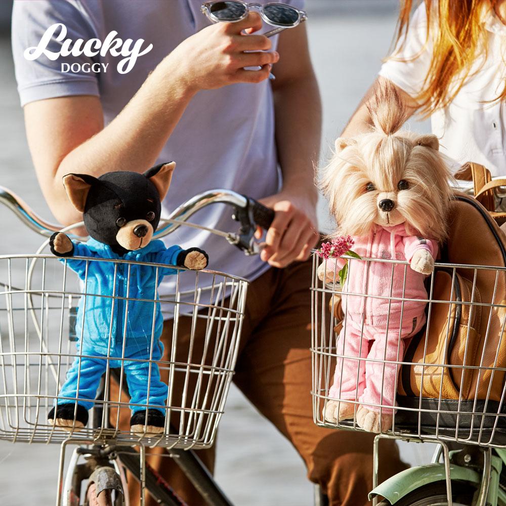 Собака LUCKY BUZZ Фитнес (Orange Toys)