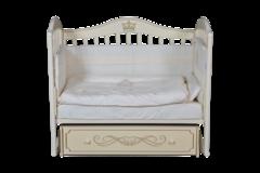 Кроватка Антел Анита-99 универсальный маятник,ящик,апликация.