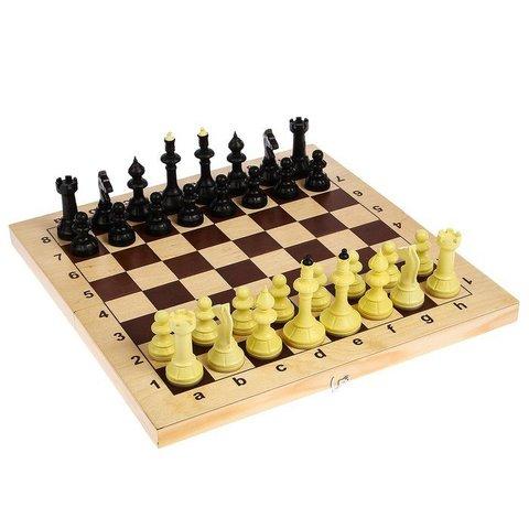 Владспортпром: Шахматы Айвенго с деревянной доской 03-008