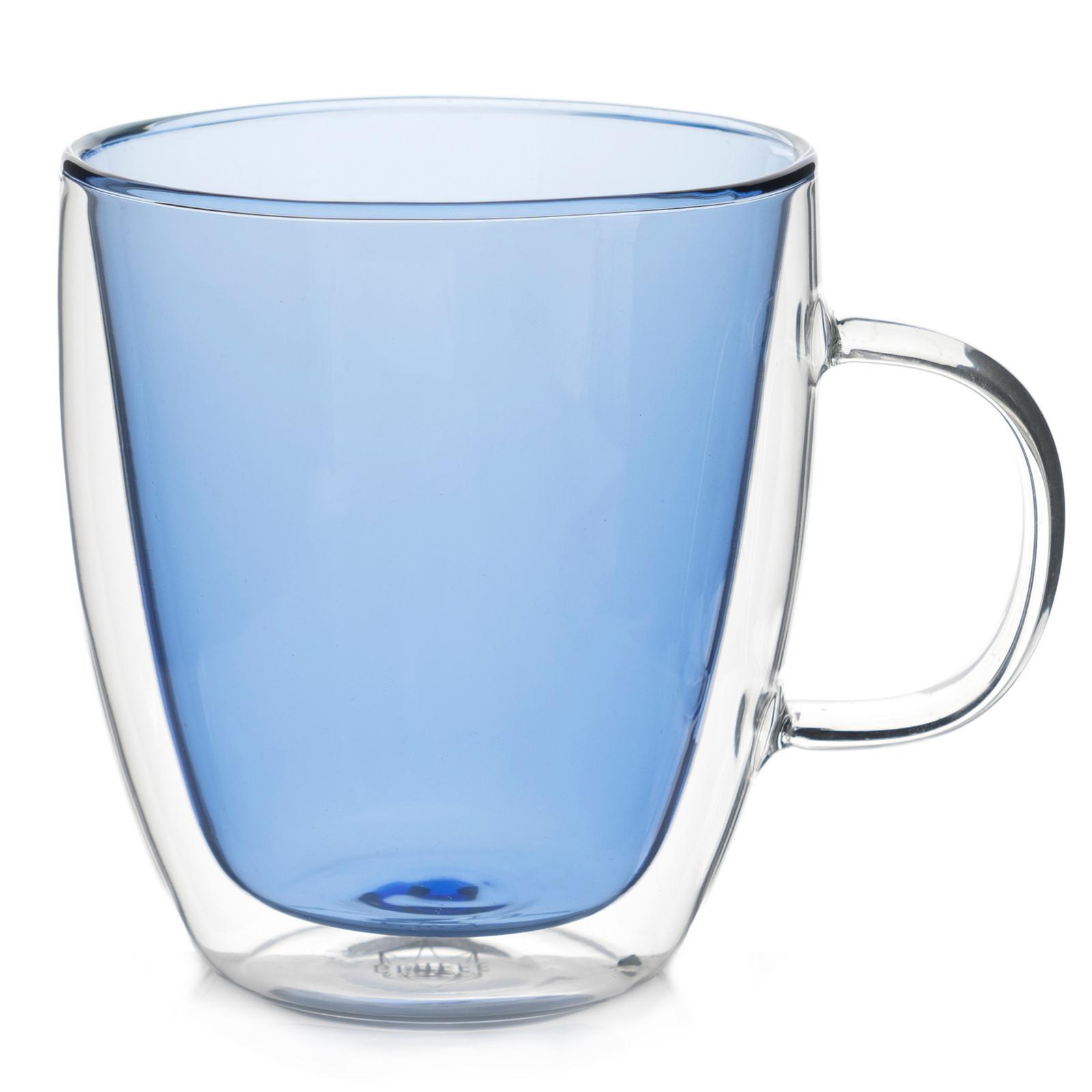 """Все товары Кружка с двойными стенками """"Sidney"""" 380 мл цветная, синее стекло лазурный.jpg"""