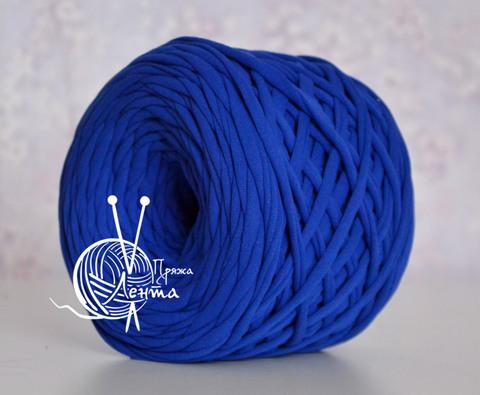 Пряжа Лента Синий