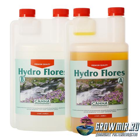 CANNA HYDRO FLORES A+B 1л (HW)