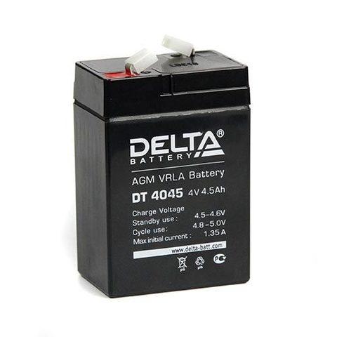 DT 4045 аккумулятор 4В/4.5Ач Delta