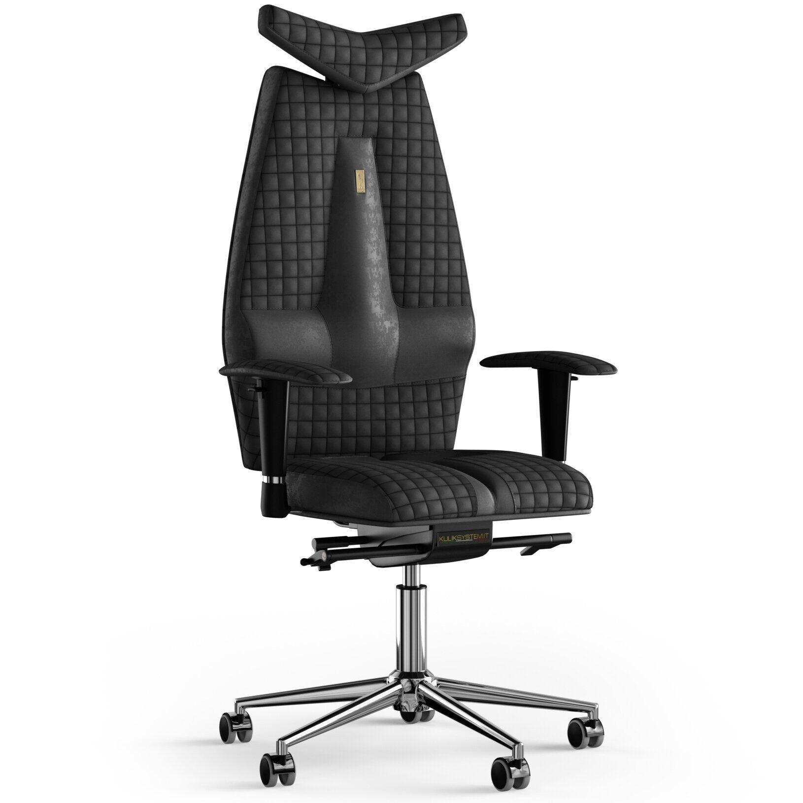 Кресло KULIK SYSTEM JET Антара с подголовником со строчкой