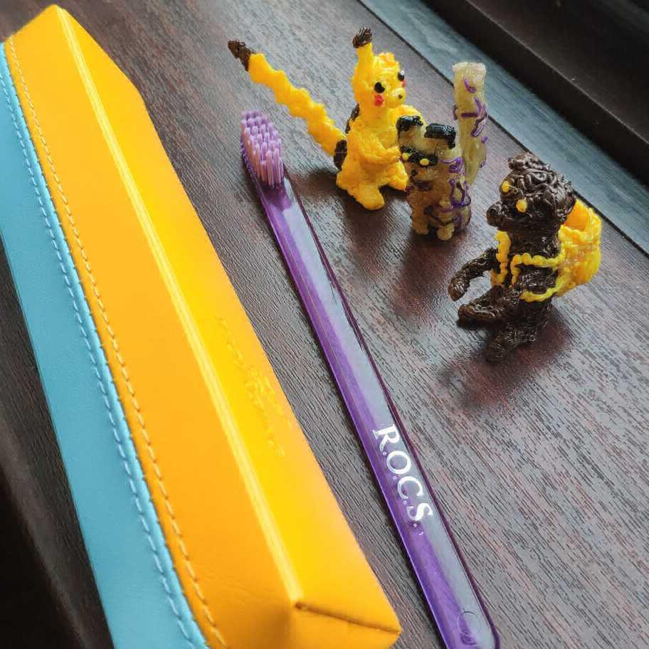 Фотография Зубная щетка - конструктор «Новый герой» с покемонами купить в магазине Афлора