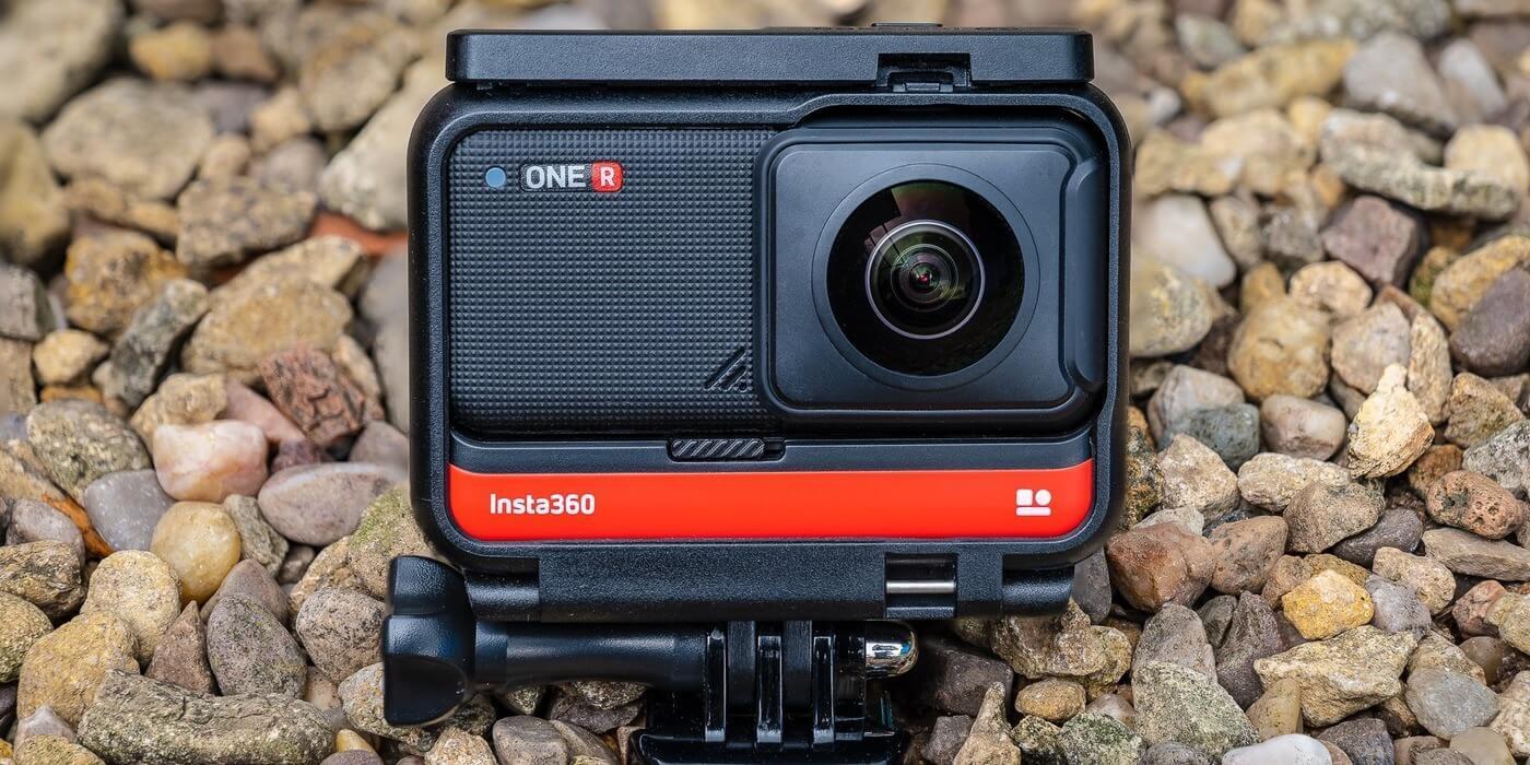 Экшн-камера Insta360 ONE R 4K в рамке