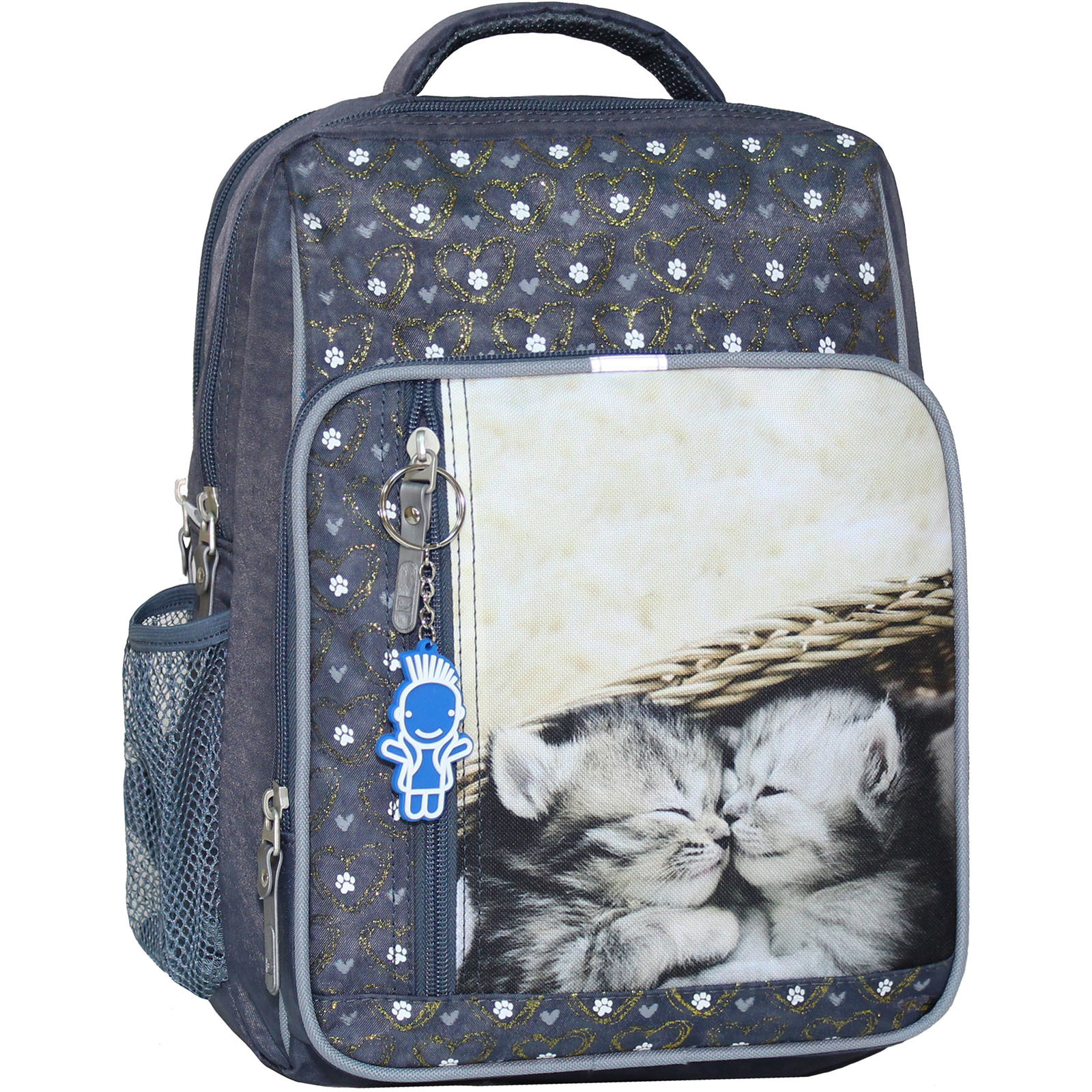 Школьные рюкзаки Рюкзак школьный Bagland Школьник 8 л. 321 серый 165к (00112702) IMG_5242_165К_.JPG
