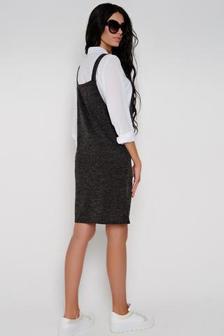 <p>Ультрамодный сарафан для молодой шалуньи. Отличное дополнение в Ваш повседневный гардероб. (Длина: 44=75см; 46=76см; 48=79см; 50=83см; плюс бретелька 17см;)</p>