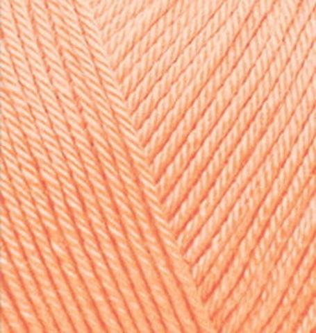 Пряжа Diva BABY (Alize) 282 светло-персиковый, фото