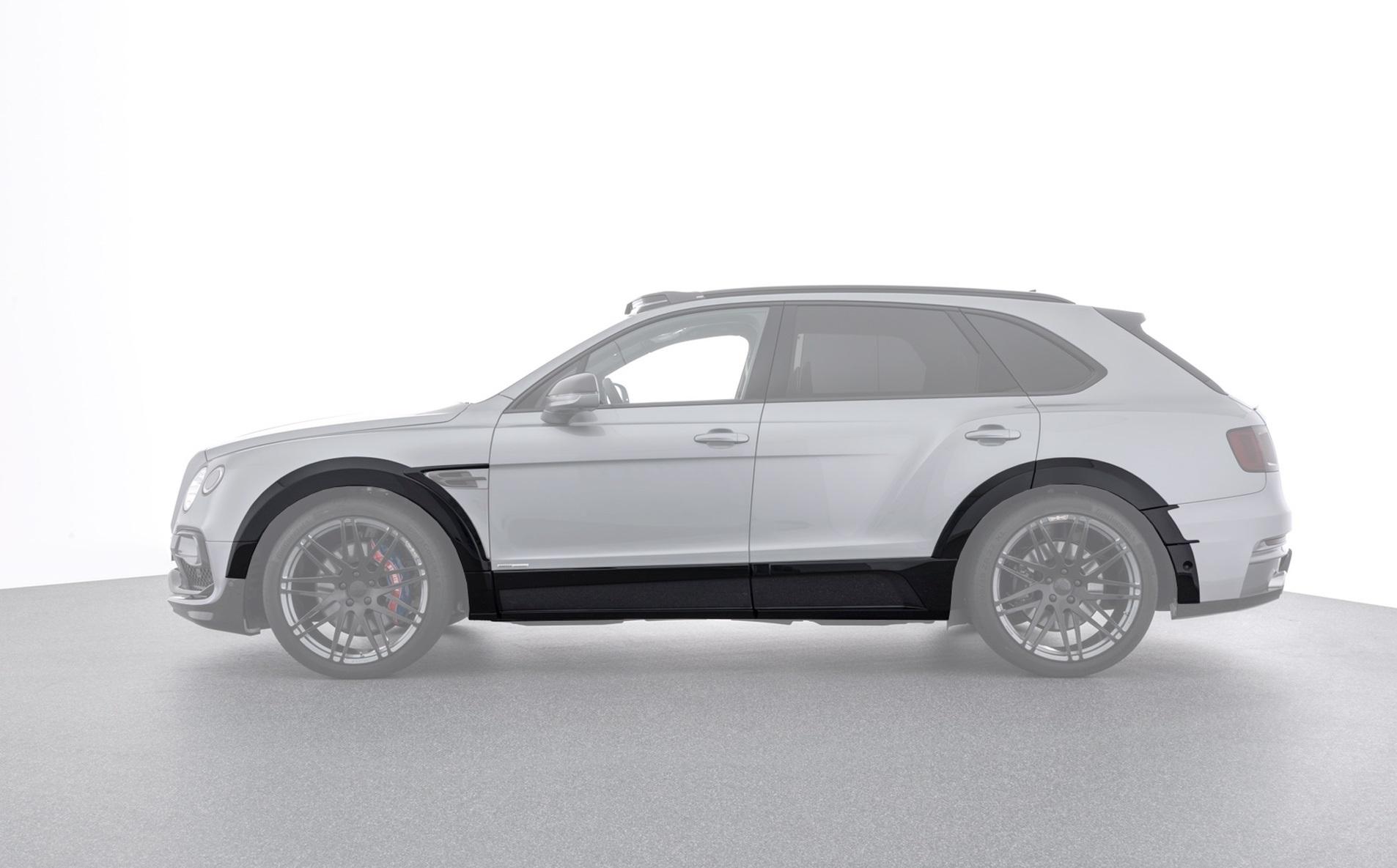 Карбоновые расширители передних колесных арок Startech Style для Bentley Bentayga