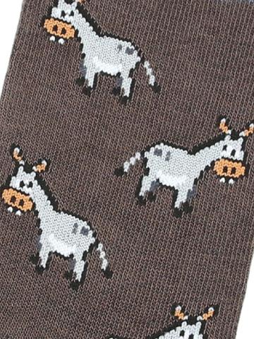 Носки с ослами