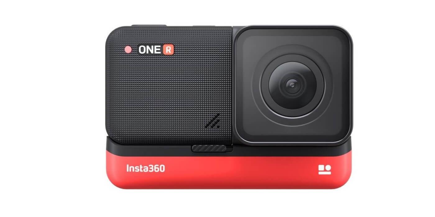 Экшн-камера Insta360 ONE R 4K внешний вид
