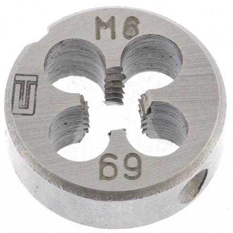Плашка М6 х 1 мм Сибртех