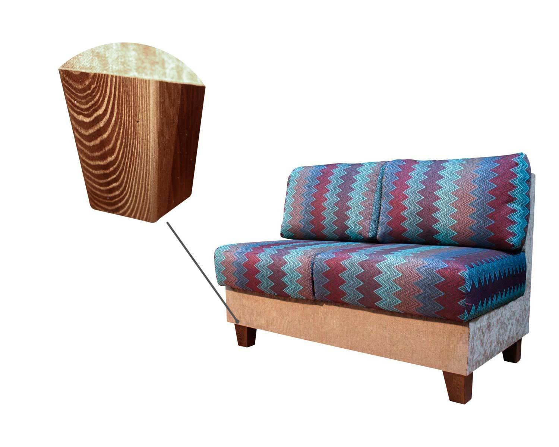 диван 2-местный Япошка, прочные деревянные опоры