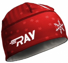 Лыжная шапка Ray Race Red Snow