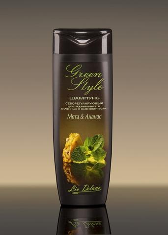 Liv delano Green Style Себорегулирующий шампунь