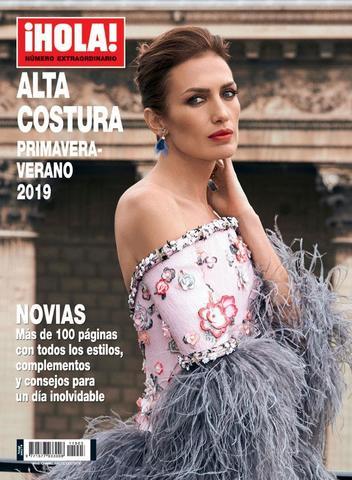 Журнал мод. ¡HOLA! ALTA COSTURA весна-лето 2019 г.