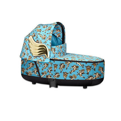 Спальный блок Cybex Lux Carrycot  Priam III by Jeremy Scott Cherubs Blue 2019