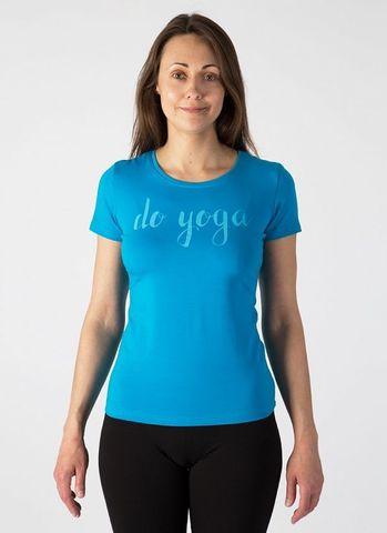 Футболка женская Do yoga