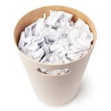 Корзина офисная для бумаг и мусора woodrow 7,5 л деревянная, кремовая-дерево Umbra 082780-668 | Купить в Москве, СПб и с доставкой по всей России | Интернет магазин www.Kitchen-Devices.ru