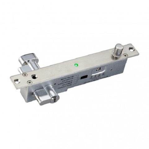 YB-500С(LED)  Электроригельный замок со световой индикацией, цилиндром на узку