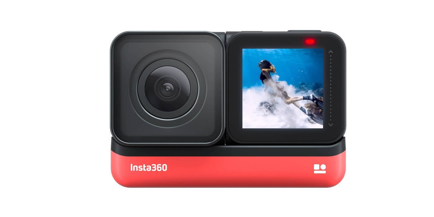 Экшн-камера Insta360 ONE R 4K с дисплеем