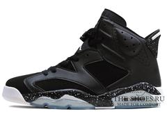 Кроссовки Женские Nike Air Jordan VI Black White