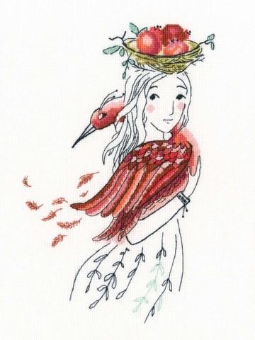 Красная птица