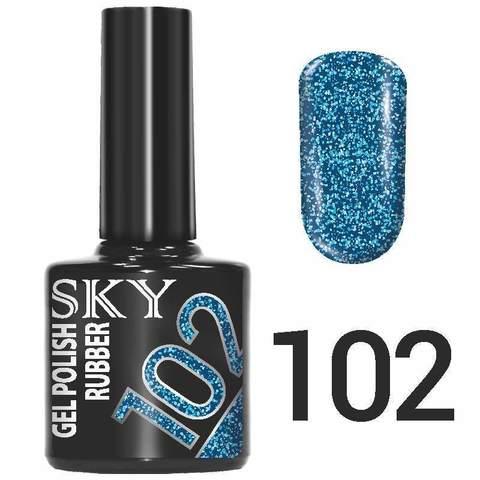 Sky Гель-лак трёхфазный тон №102 10мл
