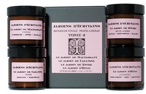 Набор свечей для путешествий, Том 2, Jardins d'Écrivains