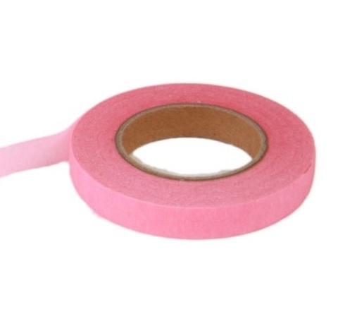 Тейп Лента 13мм*28м, цвет:розовый, Китай