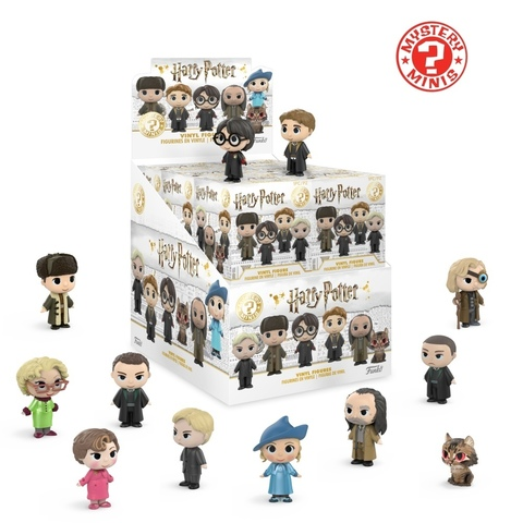 Фигурка Funko Mystery Minis: Harry Potter S3: 12PC PDQ 31021 (1шт)