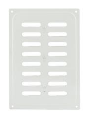 Решетка с заслонкой (заглушкой) 165х240 мм Белая