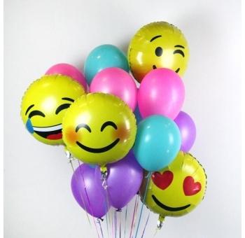 Фотозоны из шаров Букет шаров Смайлики веселые букет_26.jpg