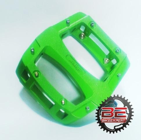 Педали Wellgo LU-A52A зеленые