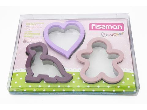 8570 FISSMAN Формы для вырезания печенья 3 шт,  купить