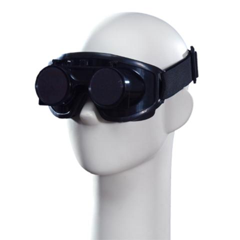 Очки сварщика закрытые с откидными стёклами СФ