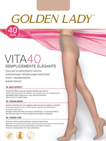 Колготки Vita 40 Golden Lady