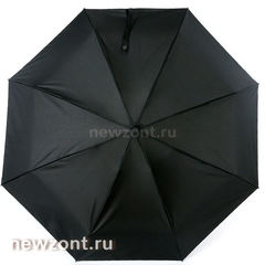 Мужской мини зонт автомат 4 сложения Lamberti черный