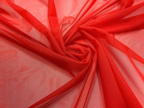 Сетка эластичная красная  (цв. 100)  Lauma