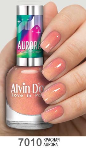 Alvin D`or Лак для ногтей AURORA  тон 7010