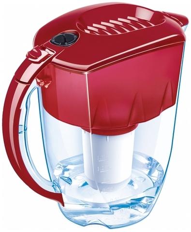 Водоочиститель Кувшин модель Аквафор Норд (рубиново-красный), арт.и3720