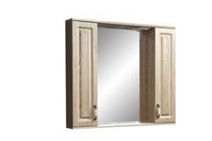 Зеркало-шкаф Stella Polar Кармела 90/С, карпатская ель