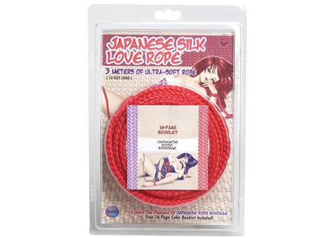 Верёвка из японского шелка Japanese Silk Love Rope™, 3 м.
