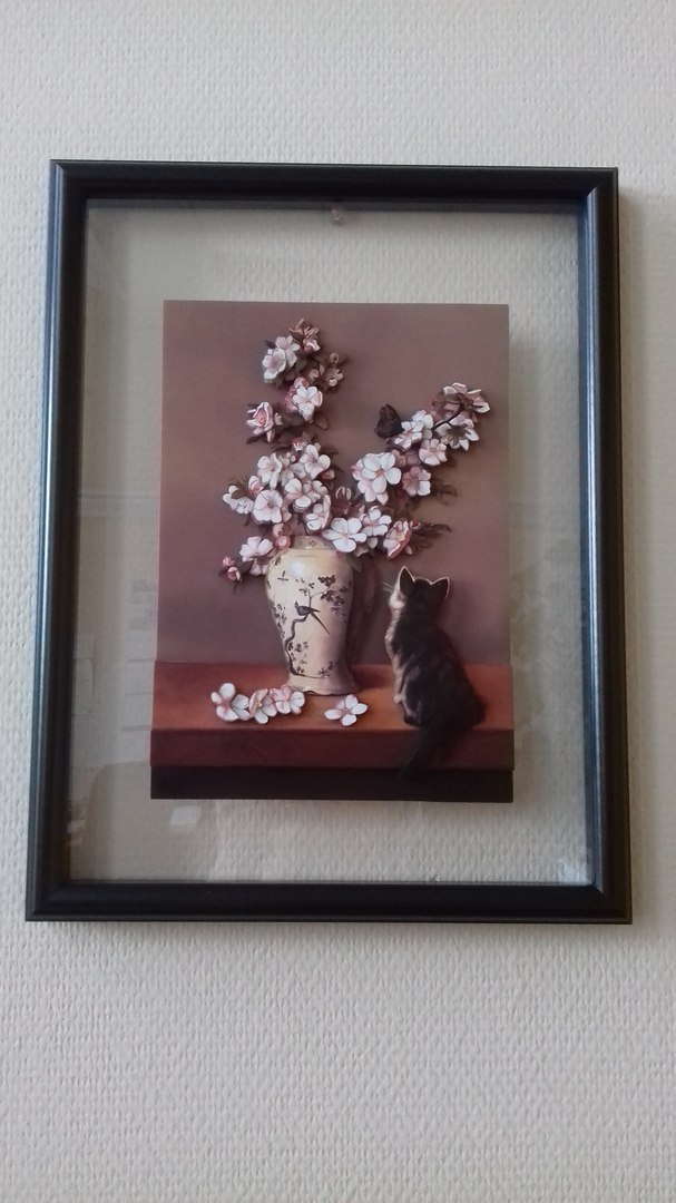 Папертоль Котенок и весна — пример оформленной работы.